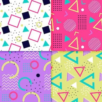 Memphis patroon collectie concept