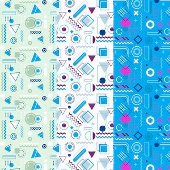 Memphis patroon set