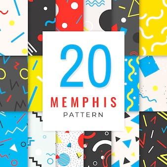 Memphis-patroonverzameling