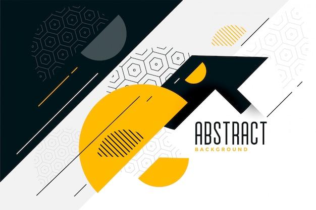 Memphis stijl abstracte cirkels achtergrond