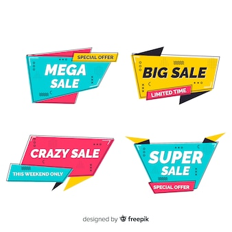 Memphis verkoop banner collectie