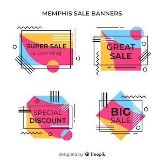 Memphis verkoop banners