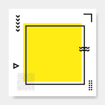 Memphis vierkante kaart