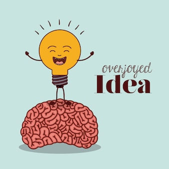 Menselijk brein ontwerp