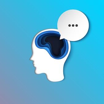 Menselijk denken en bellen spreken