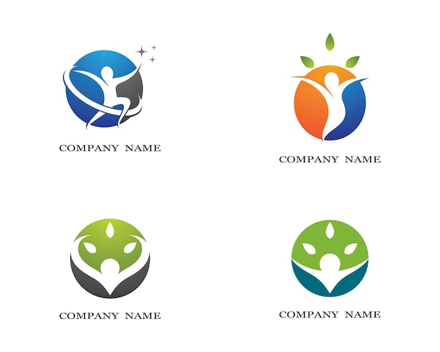 Menselijke gezondheid symbool illustratie ontwerp