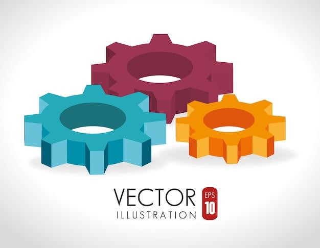 Menselijke hulpbronnen, vectorillustratie.