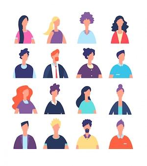 Mensen avatars instellen