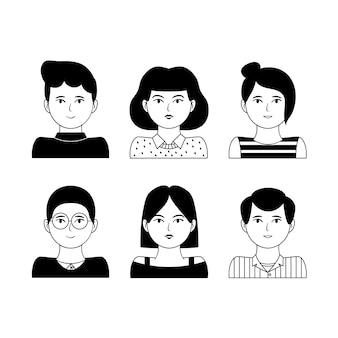 Mensen avatars pack
