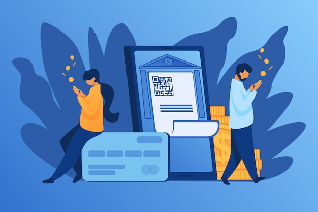 Mensen controleren geld op rekeningen