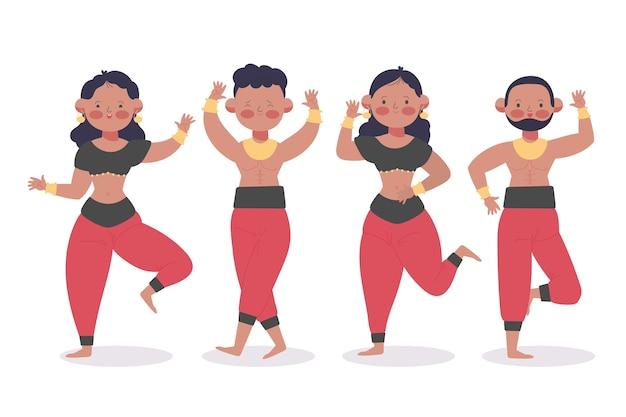 Mensen dansen bollywood