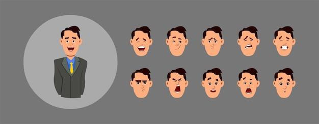 Mensen die emoties tonen