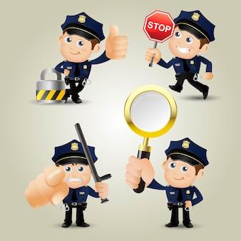 Mensen instellen beroep politieagent