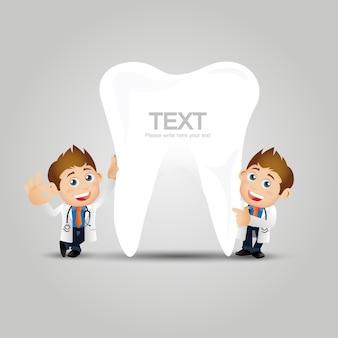 Mensen instellen beroep tandarts