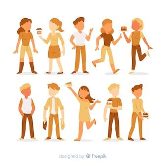 Mensen karakterverzameling