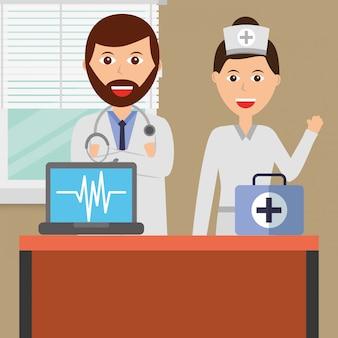 Mensen medische beroepen