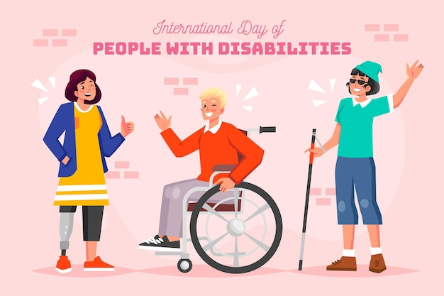Mensen met een handicap internationale dag