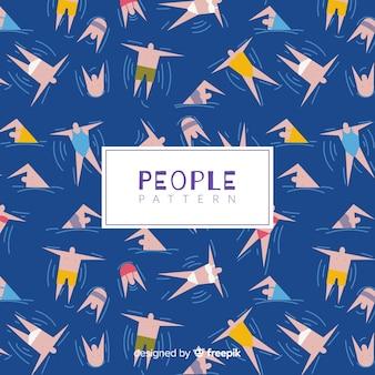 Mensen patroon