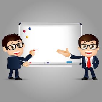 Mensen set onderwijs leraar vrouw whiteboard