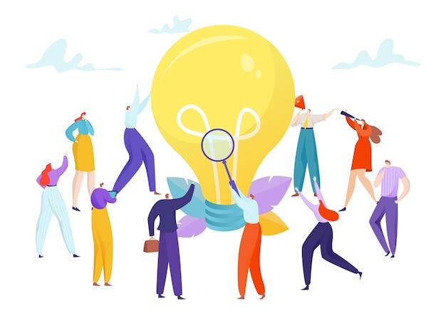 Mensen teamwerk creatief bedrijfsidee concept