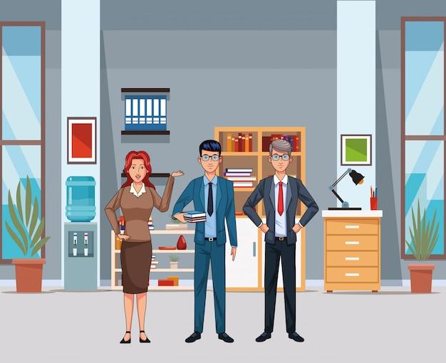 Mensen uit het bedrijfsleven avatar