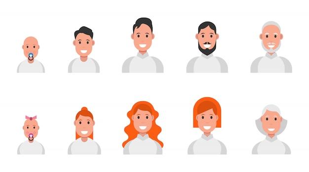 Mensen van verschillende leeftijden