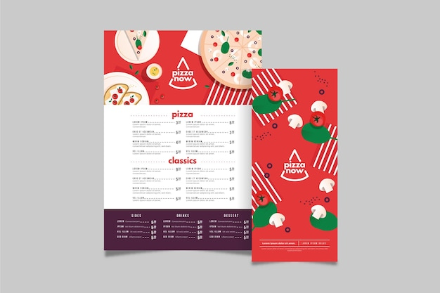 Menu concept in plat design