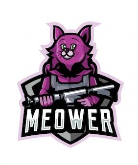 Meower sport logo