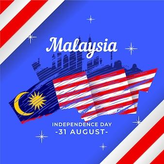 Merdeka - de onafhankelijkheidsdag van maleisië