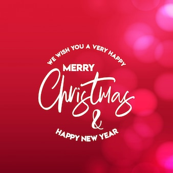 Merry christmas 2019 achtergrond