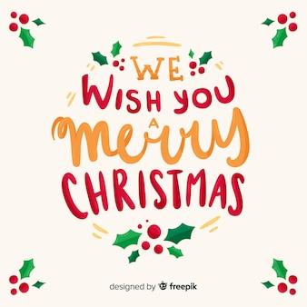 Merry christmas globe belettering