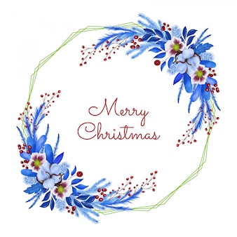 Merry christmas groet cand