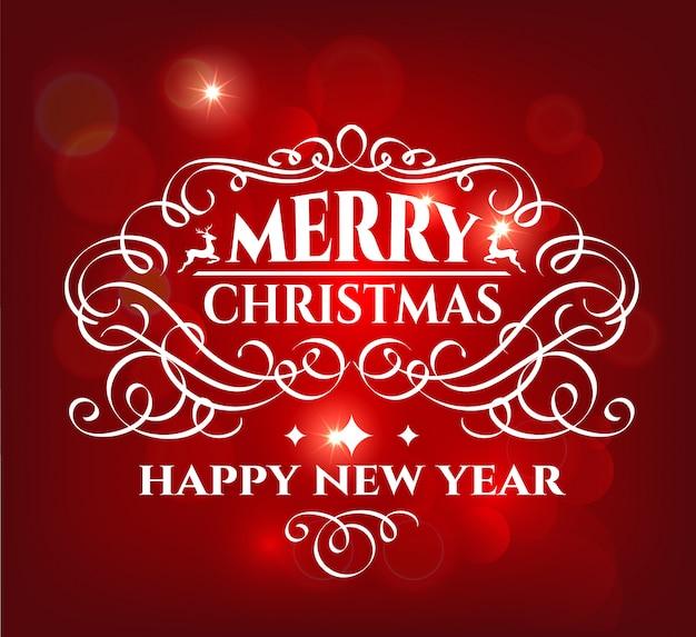 Merry christmas holidays wenskaart