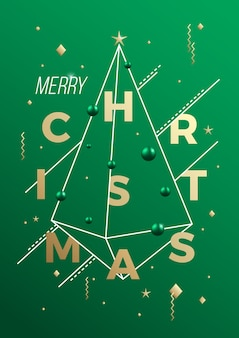 Merry christmas illustratie