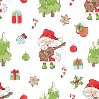 Merry christmas-muziek naadloos
