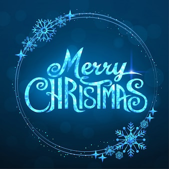 Merry christmas-tekst