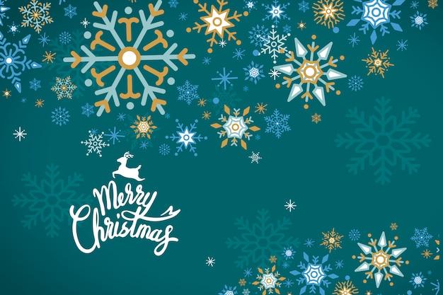 Merry christmas vakantie ontwerp achtergrond vector