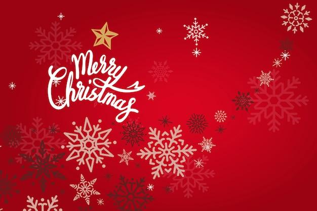 Merry christmas vakantie ontwerp achtergrond