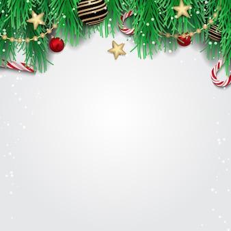 Merry christmas wenskaart, banner, posterontwerp