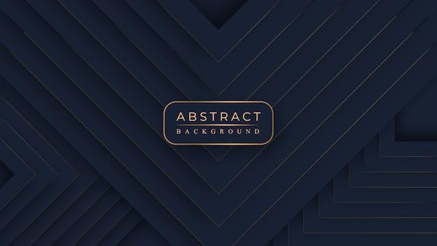 Met abstracte luxe stijl in prachtige kleuren