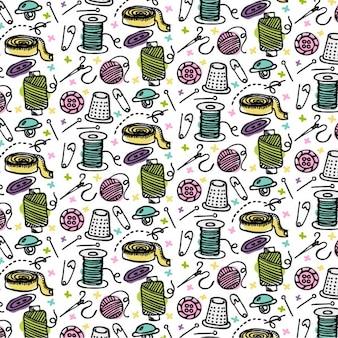 Met de hand gemaakt patroon