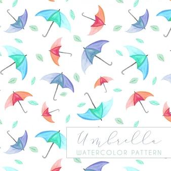 Met de hand geschilderd patroon ontwerp