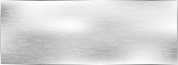 Metaal geborstelde textuurachtergrond, grijs metaal