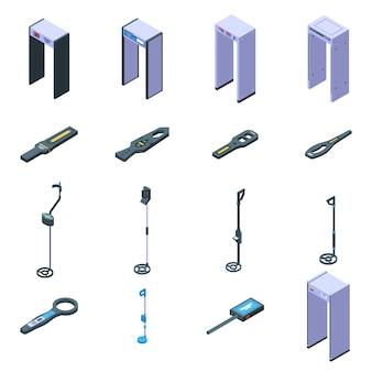 Metaaldetector pictogrammen instellen