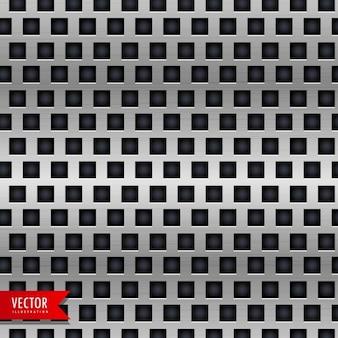 Metal achtergrond met tegels patroon