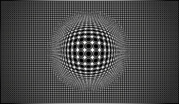 Metalen gaas achtergrond - vectorillustratie.