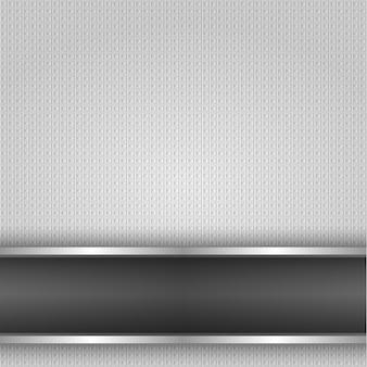Metalen oppervlak, achtergrond van ijzertextuur, vectorontwerp