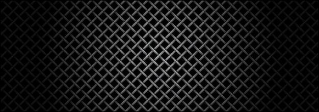 Metalen raster microfoon textuur
