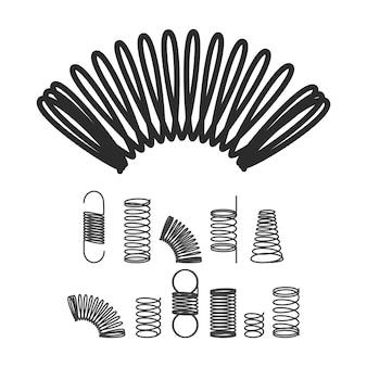 Metalen spiraal flexibele draad