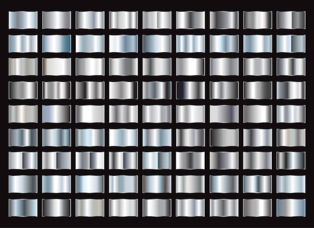 Metallic gradiënten collectie